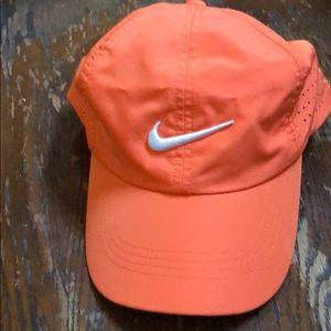 Nike hat orange